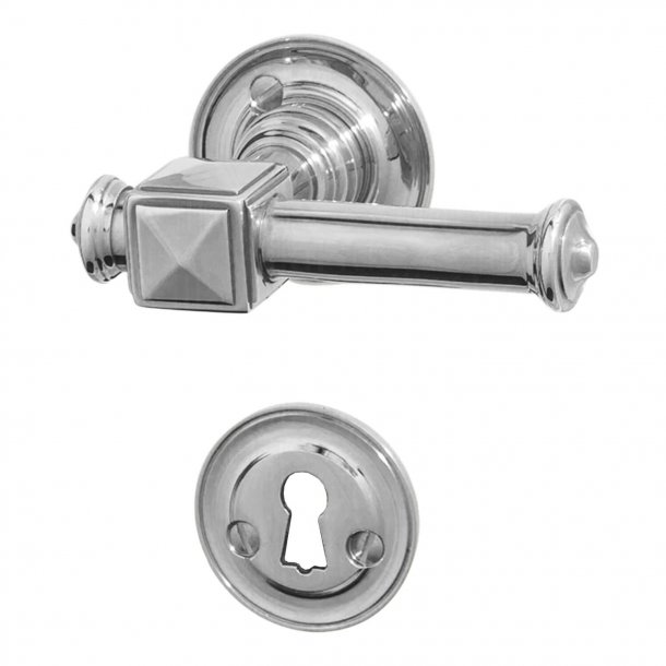 Door handle - Interior - ULLMAN 112 mm, CHROME