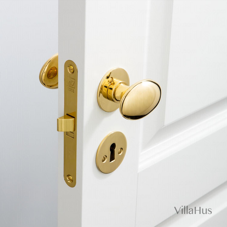 Door Knob Brass Flat Rosette And Escutcheon Model Blenheim 3 Brass Door Handles Villahus