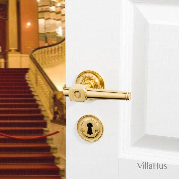 Door handle interior - Theatre handle - Brass