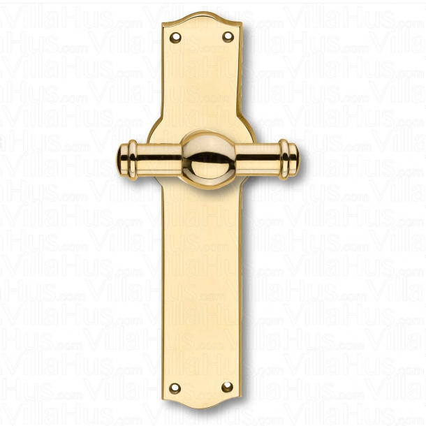 Door handle interior - Back plate wide - Brass - CREUTZ 74 mm