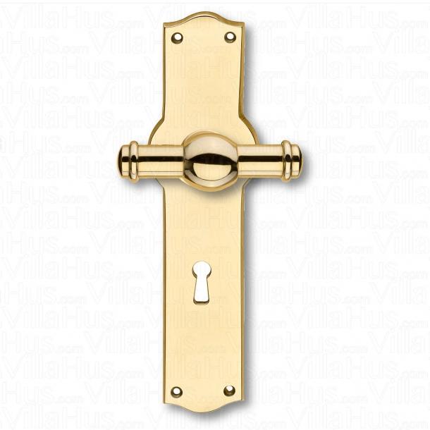 Klamki - Wnętrze - Rozeta - Dziurka od klucza - Mosiądz - Creutz 74mm