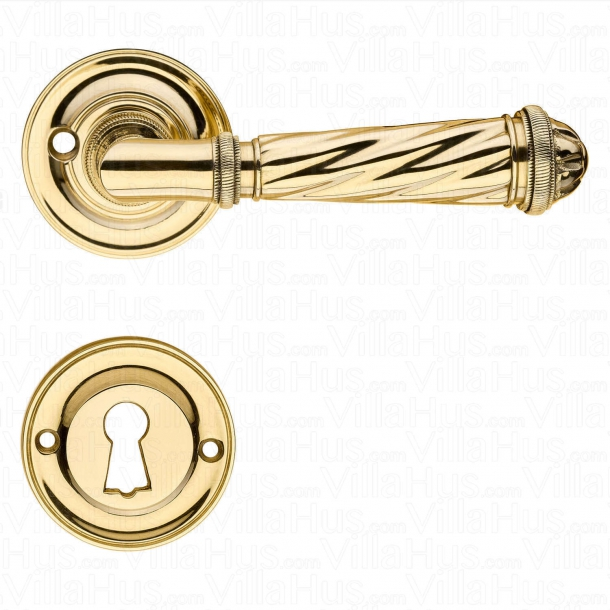 Door handle interior - Franck on Rosset - Brass