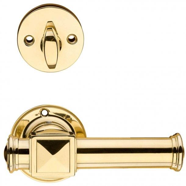 Dørhåndtag udendørs - Messing Vrider/Cylinderring - ULLMAN