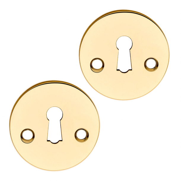 Schlüsselplatte (Satz) Messing - Schraube - cc27mm