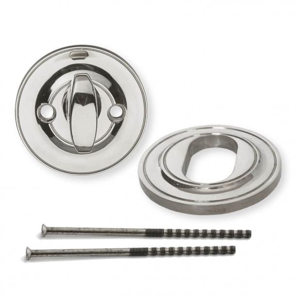 Vridergreb og Cylinderring - Nikkel - Søe-Jensen - 6mm / 11mm