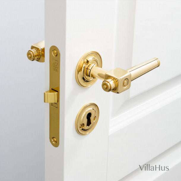 Door handle interior - Theatre handle - Brass - Bolt and sleeve