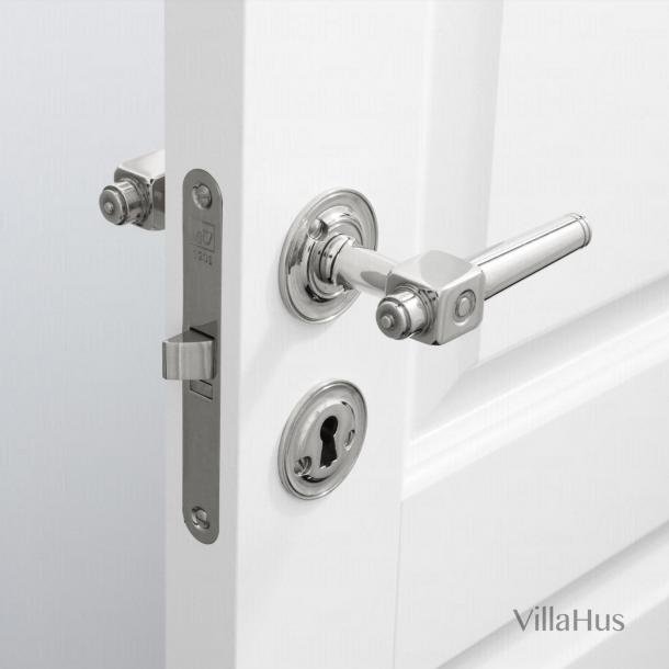 Door handle interior - Theatre handle - Nickel - Bolt and sleeve