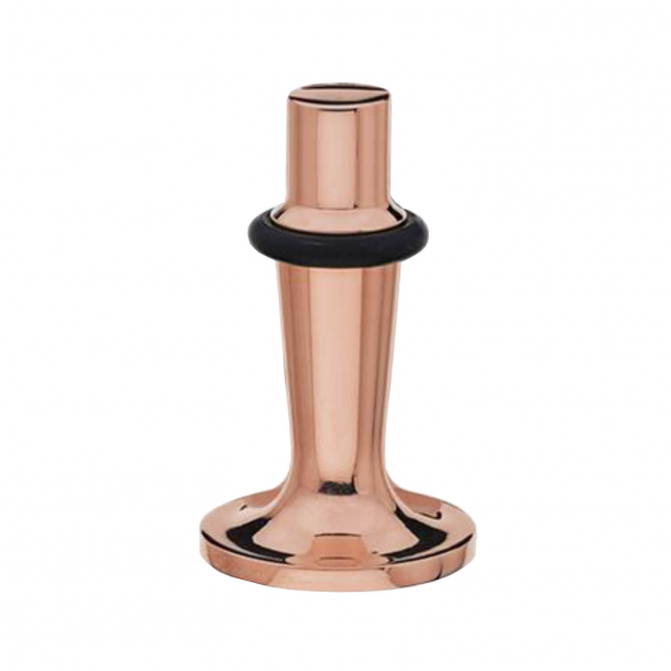 Door stop - Copper - Black rubber cravings - Floor model