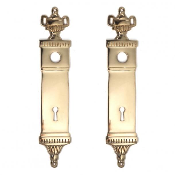 Door backplate - Empire Brass - Fits UFFICI Door handle