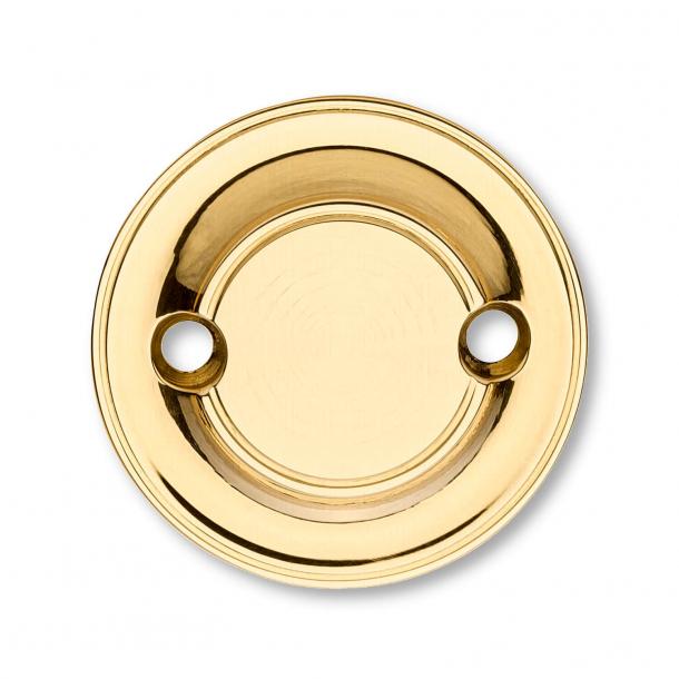 Blind rosette - Brass - ø58 mm