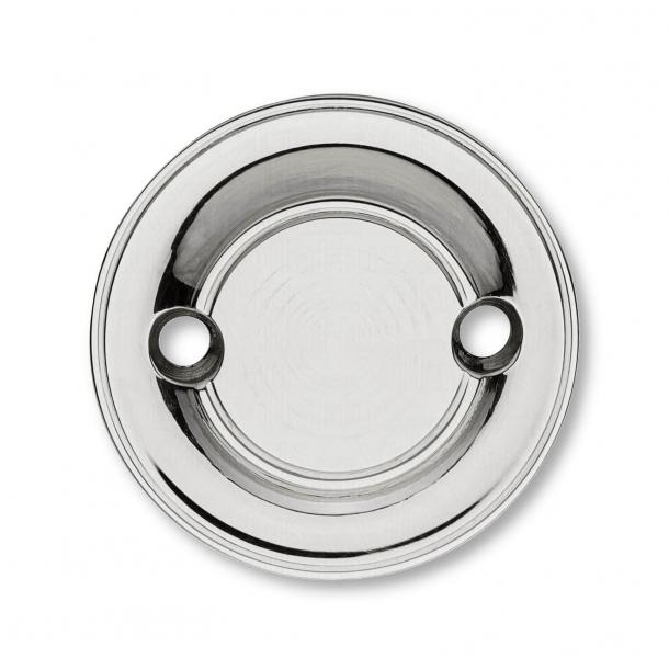 Blindrosette - Chrom - ø58 mm