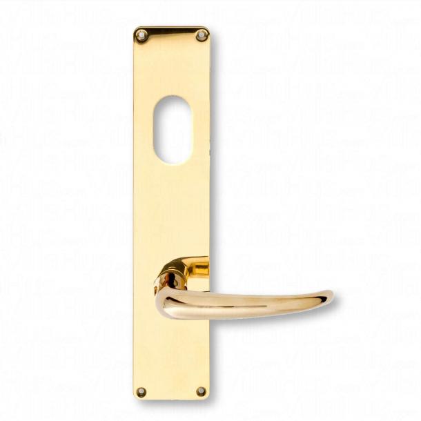 Dörrhandtag - Coupe dörrhandtag, utomhus med cylinder - Kay Fisker (206601.CE)