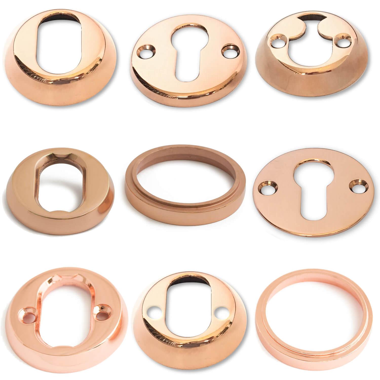 Pierścienie cylindryczne - miedziane