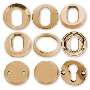 Cylinder Rings - Brass