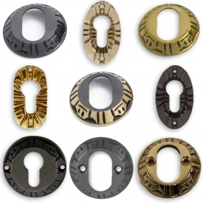 Cylinder Rings - Antique
