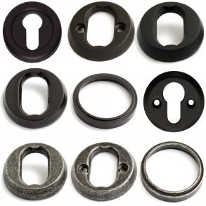Cylinder Rings - Black / Tin