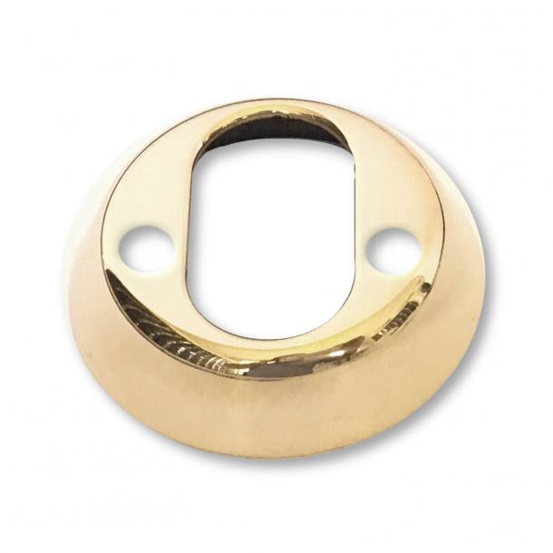 Cylinderring indvendig - 2-18 mm - Poleret Messing