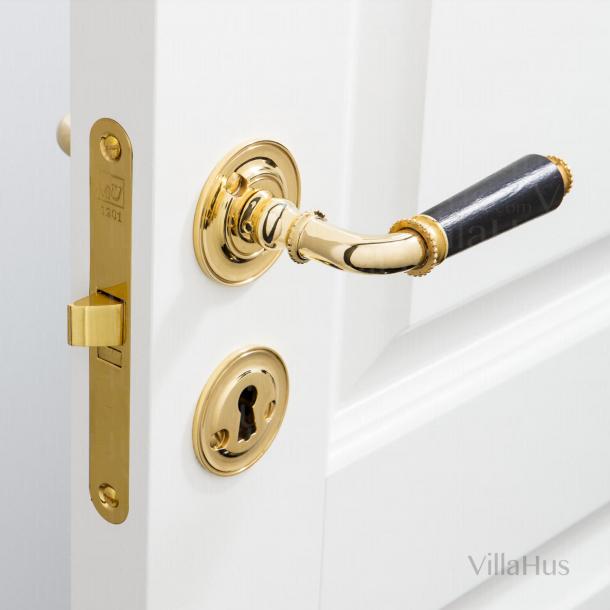 Klamka do drzwi - Humlebæk - Mosiądz polerowany