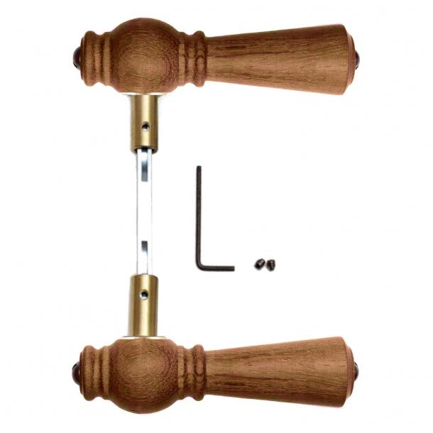 Klamka do drzwi - Dąb olejowany -  205249