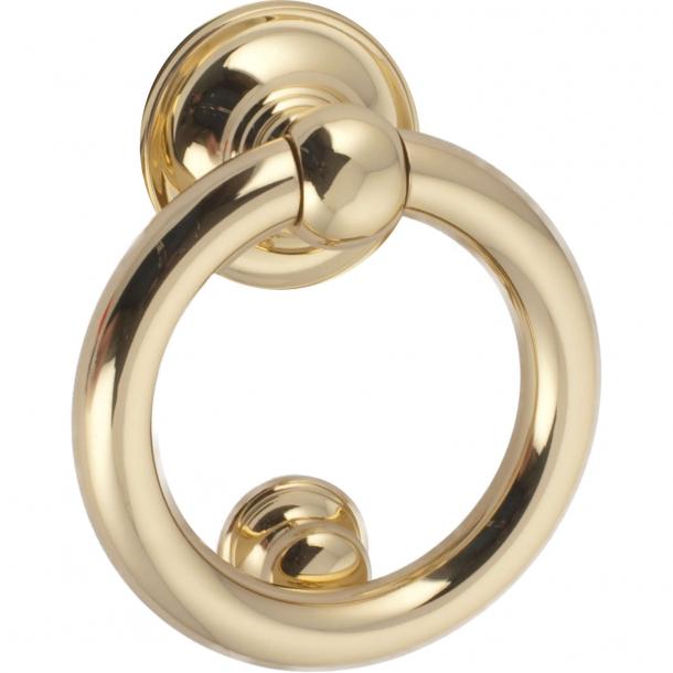 Door knocker, Ring 701, Brass, 125 mm (202688)