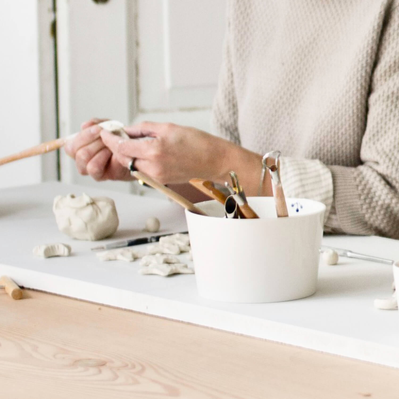 Møbelknopper - Knager - Håndlavet porcelæn - Anne Black