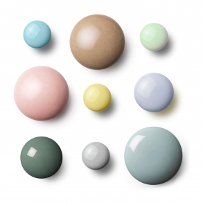 Møbelknopper og Knager - Porcelæn - PLAIN