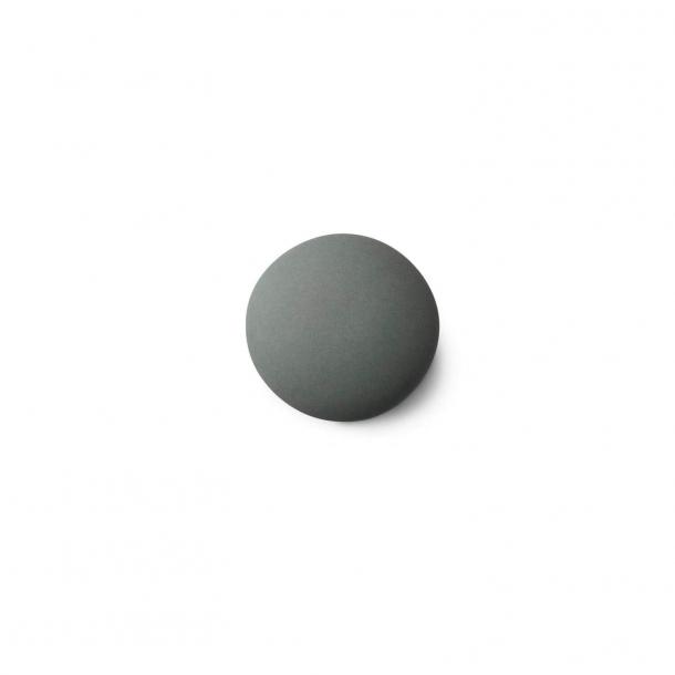 Möbelknauf oder -haken - Anne Black Porzellan - 30 x 30 mm - Jade - Modell MAT