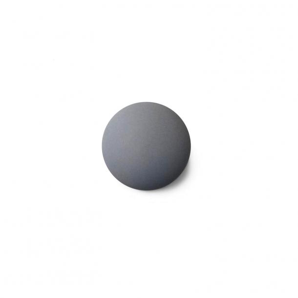 Møbelknop eller knage - Anne Black Porcelæn - 30 x 30 mm - Grå - Model MAT