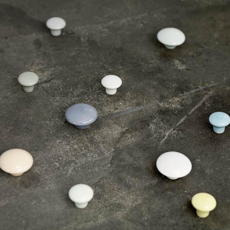 Møbelknopper - Knager - Porcelæn - Anne Black - PLAIN