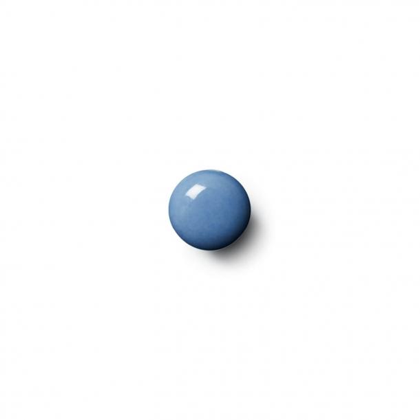 Möbelknapp eller krok - Anne Black Porslin - 30 x 30 mm - Mörkblå - Modell PLAIN