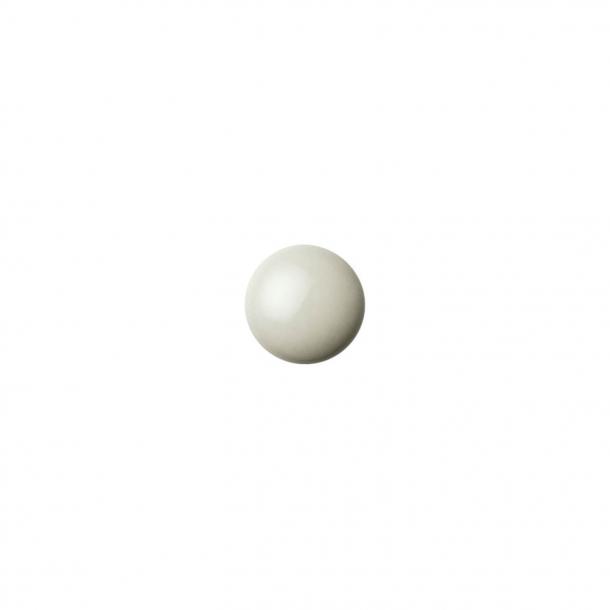 Møbelknop eller knage - Anne Black Porcelæn - 30 x 30 mm - Sage - Model PLAIN