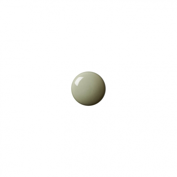 Möbelknapp eller krok - Anne Black Porslin - 30 x 30 mm - Jade - Modell PLAIN