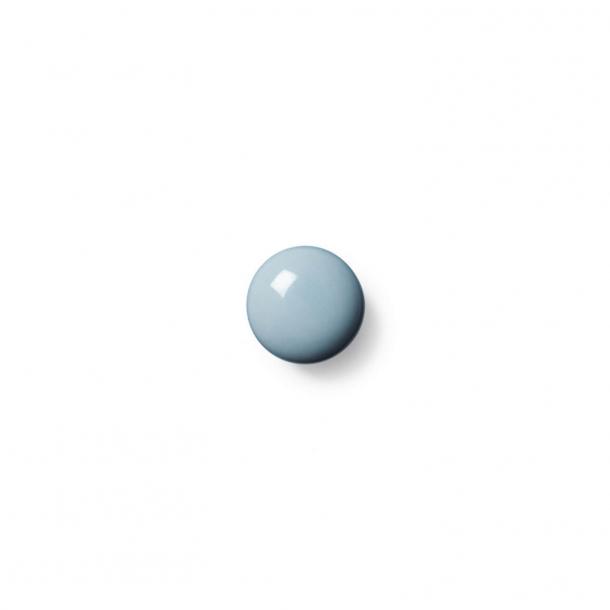 Möbelknopp eller krok - Anne Svart Porslin - 30 x 30 mm - Kobolt - Modell PLAIN