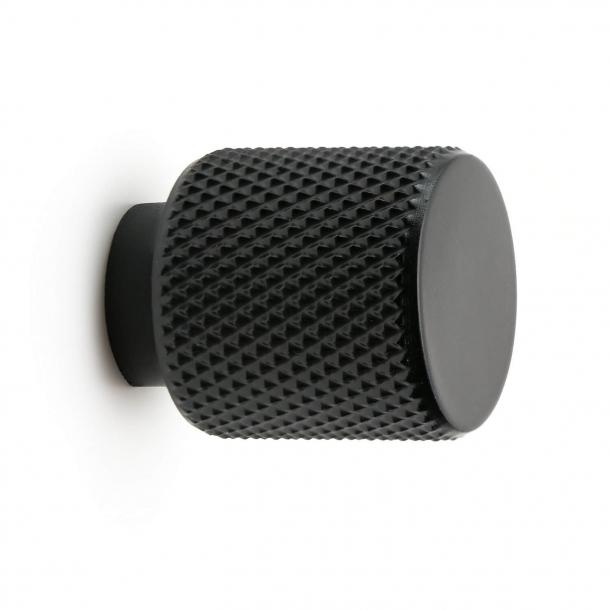 Møbelknop - Mat sort - KNOPP HELIX - 20x25 mm