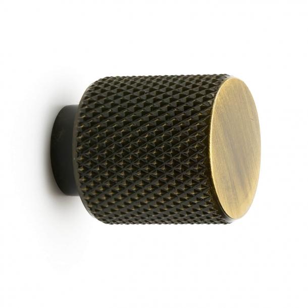 Möbelknopp - Antik brons - KNAPP HELIX - 20 mm x 25 mm