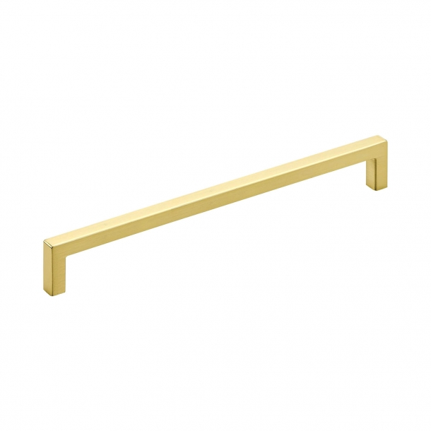 Furniture Handle - Brushed brass - Model 0143 - cc192 mm