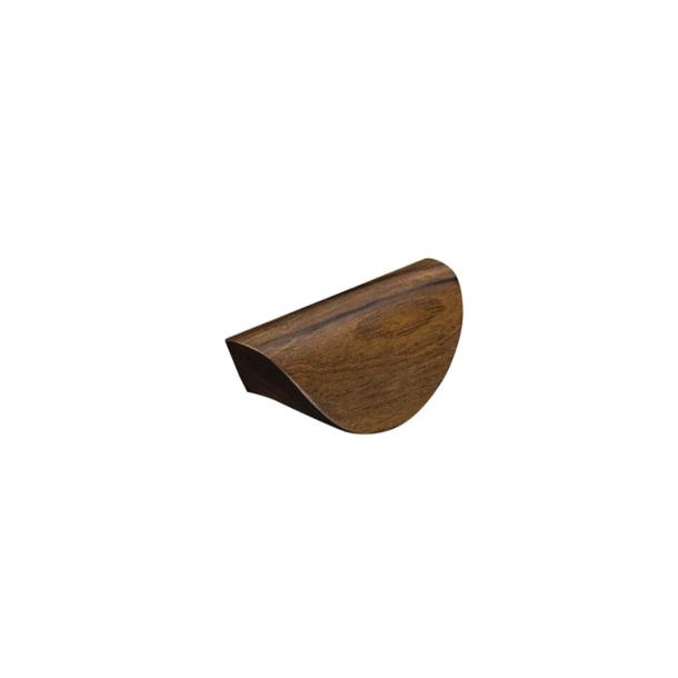 Möbelhandtag - valnötsträ - ARCHIVE - 64 mm