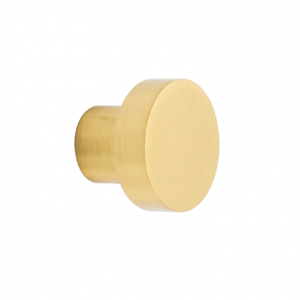 Cabinet knob - Brushed brass - MOOD - 30 x 25mm