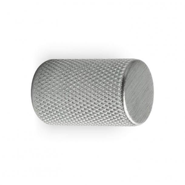 Möbelknopf GRAF - Gebürsteter Edelstahl - 17x28 mm