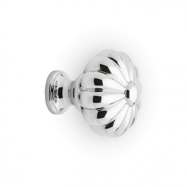 Møbelknop DAISY - Krom - 33 mm