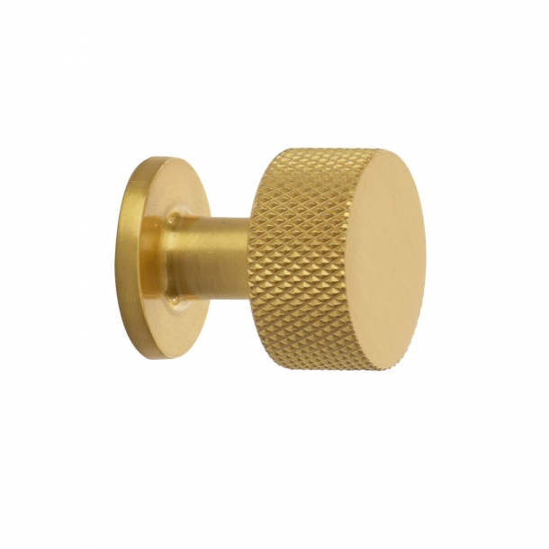 Cabinet knob - Brass - CREST - 26mm x 28mm