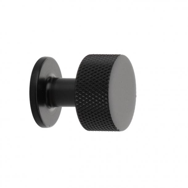 Möbelknopf - Schwarz - CREST - 26mm x 28mm