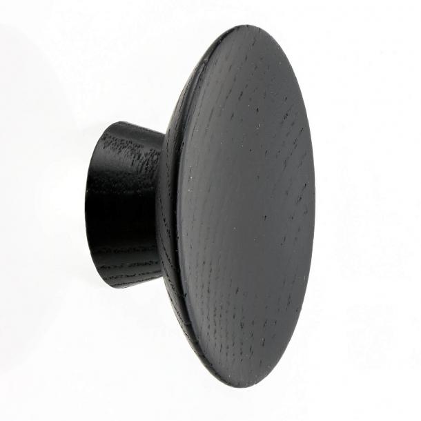 Möbelknopf - Schwarzes Holz - OLYMPIA - 50x20 mm