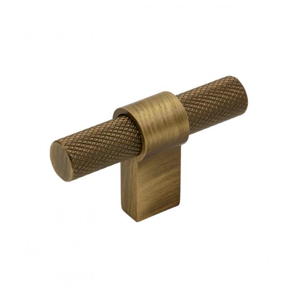 Beslag Design T-bar Cabinet handle - Antique bronze - Model Helix