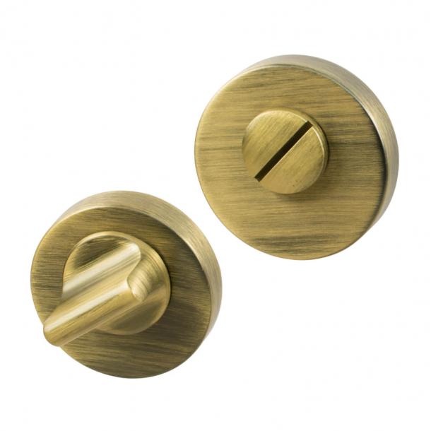 Toiletbesætning - Antik bronze - Beslag Design - HELIX