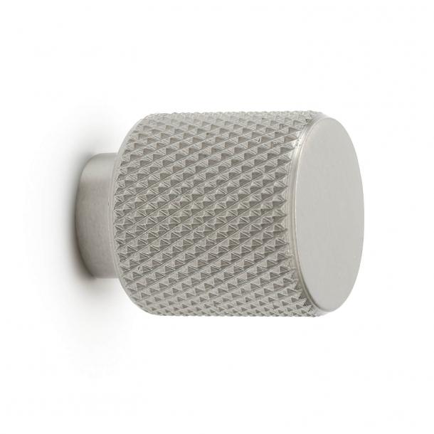 Gałka do mebli - Stal szczotkowana - Helix - 20 mm x 25 mm