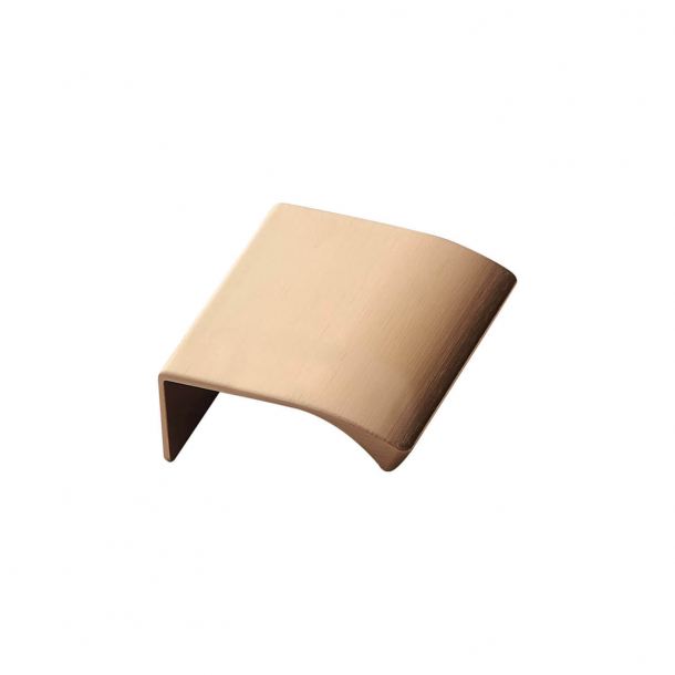 Furniture Handle - Brushed brass - EDGE STRAIGHT - 40 mm