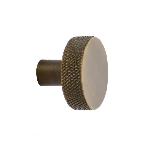 Gałka Flat - Brąz antyczny - 32 mm