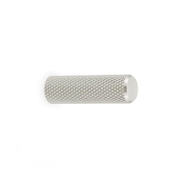 Furniture knob GRAF MINI - Brushed stainless steel - 10x33 mm