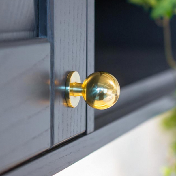 Furniture knob SOLLIDEN - Brass without lacquer - 25 mm